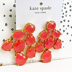 SALE💕RARE KATE SPADE JEWELED STATEMENT EARRING